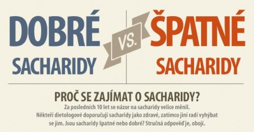 Dobre sacharidy vs. spatne sacharidy - infografika - nahled