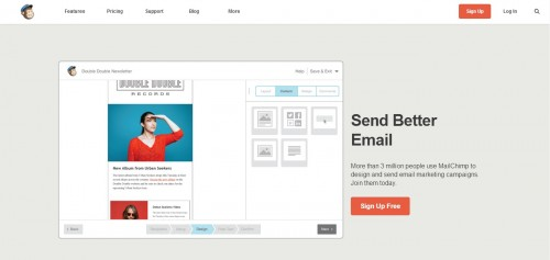 MailChimp - Send Better Email