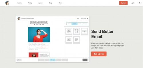 MailChimp - Send Better Email