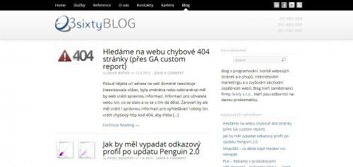 Printscreen 3sixty.eu