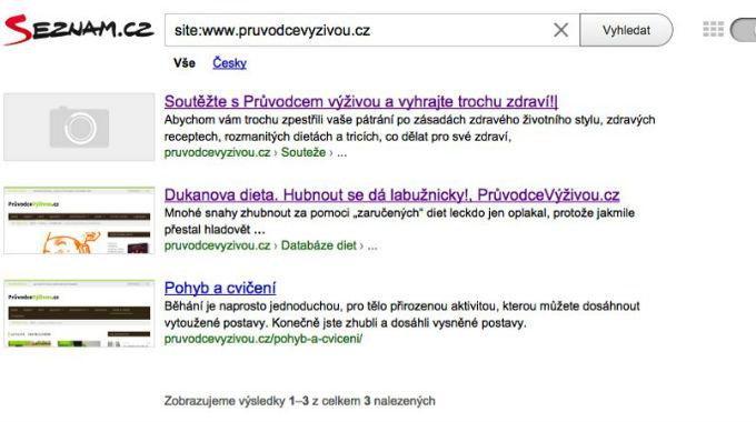 Jak Rychle Indexuje Seznam.cz Nové Stránky