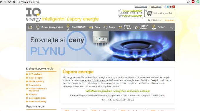 SEO Audit Iqenergy.cz – Strukturovaná Data