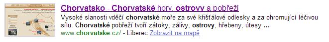 Meta description v Seznam.cz